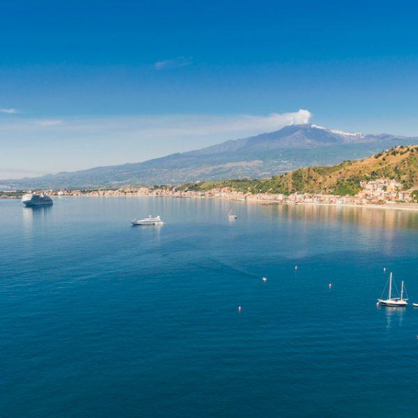 Etna from Taormina