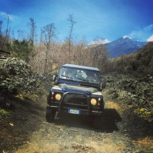 Jeep tour to Mount Etna