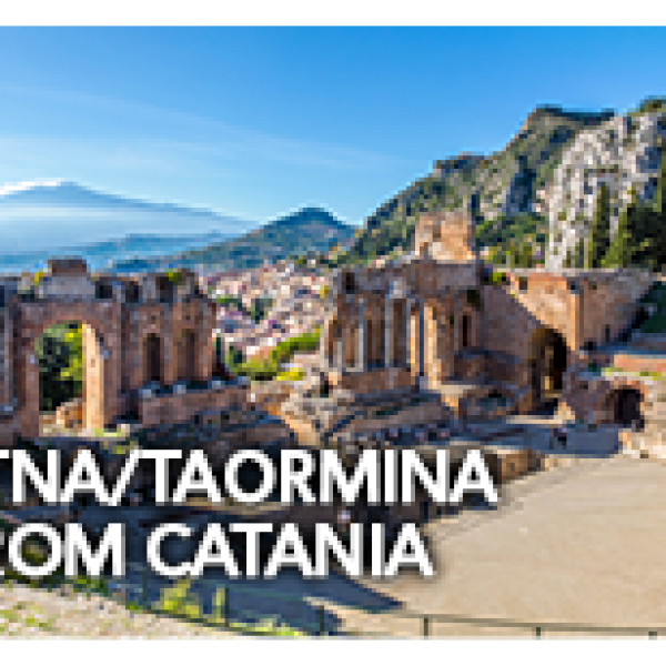 Etna & Taormina Tour from Catania