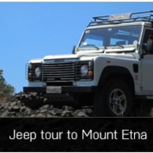 Jeep tour to Mount Etna