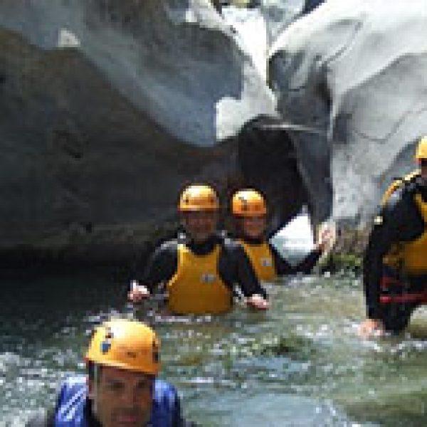 River Trekking Sicily