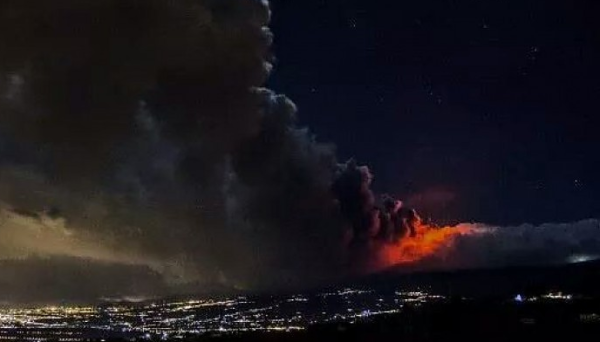 Etna eruption 2014