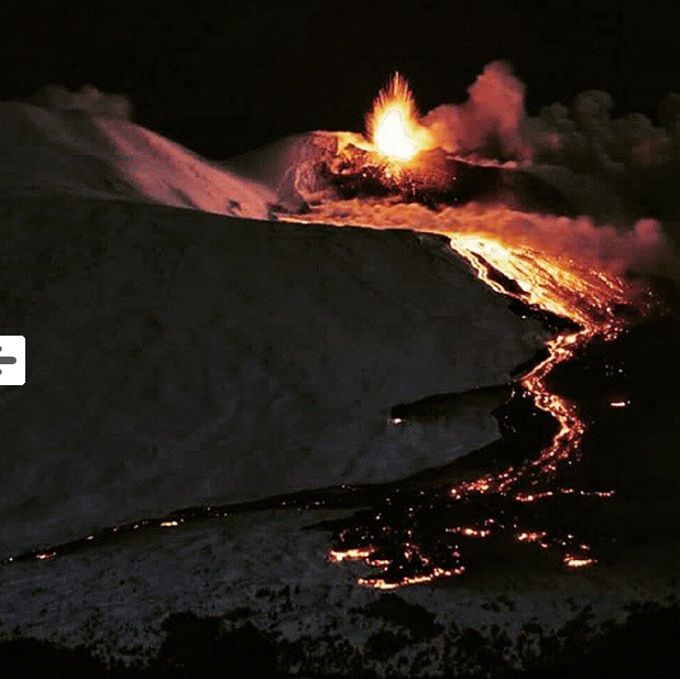 Etna Eruption 2015
