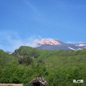 Etna Eruption 2015