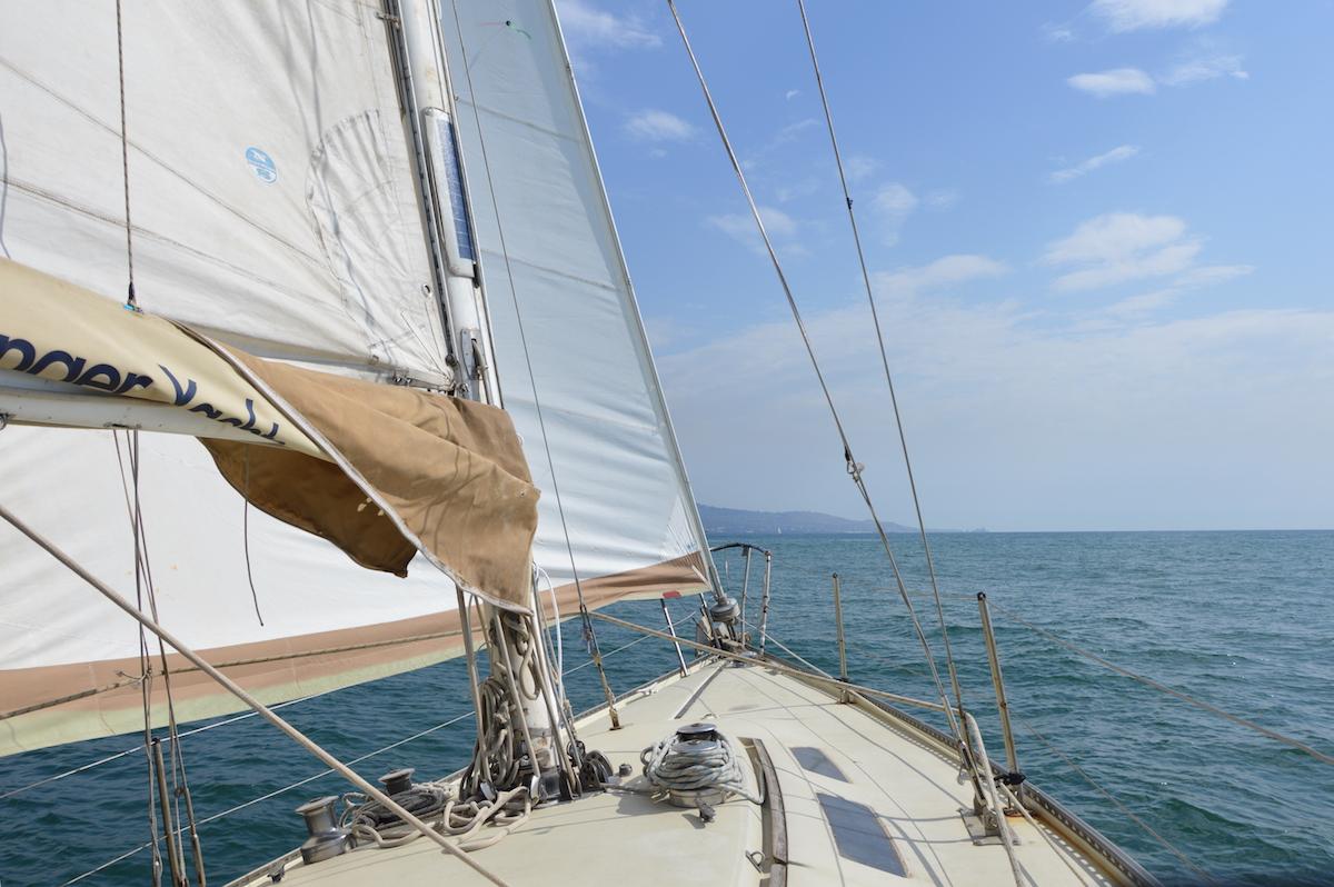 Sailing tour Sicily