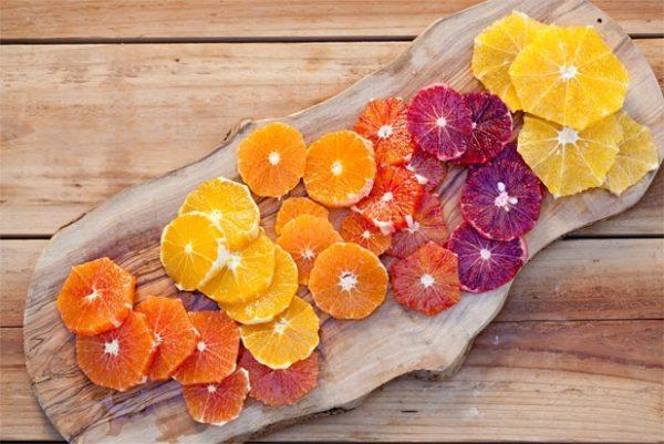 Sizilianische Orangenvielfalt