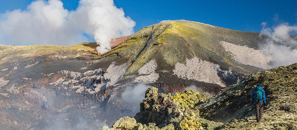 Trekking en el Etna 3350m