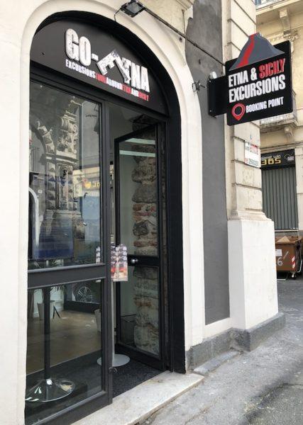Go-Etna Booking Point Catania