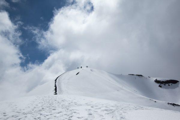 Skiing in Sicily