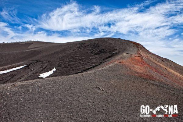 Mount Etna Hiking Crater