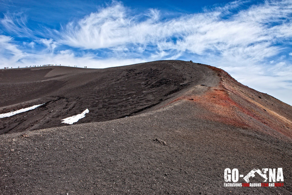 Mount Etna Hiking Crater