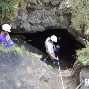 Mount Etna Lava Cave