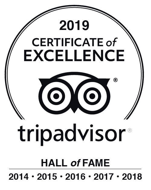 TripAdvisor Etna Hall of Fame 2019