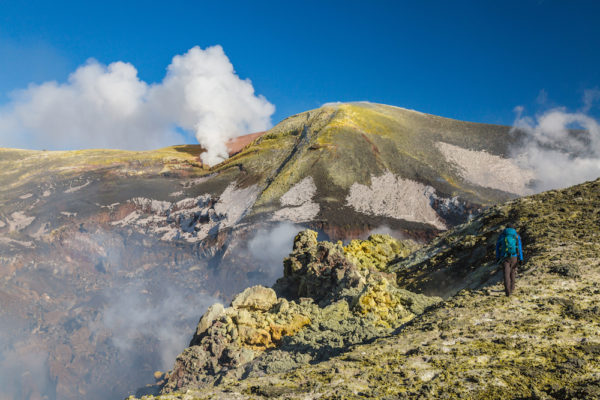 Mount Etna Trekking to The Top