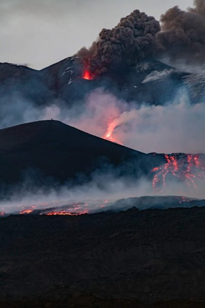 etna eruption tamajo