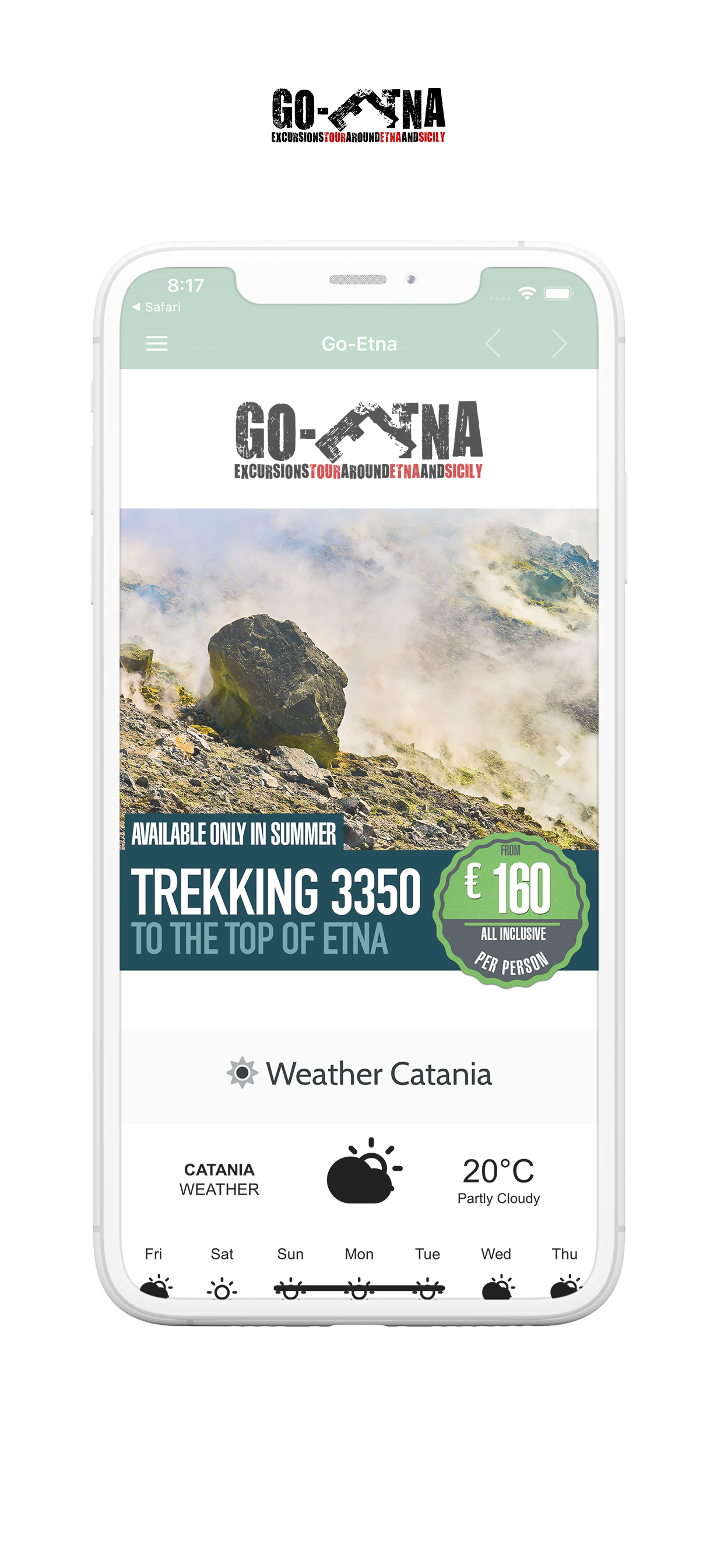 IPhone App Go-Etna