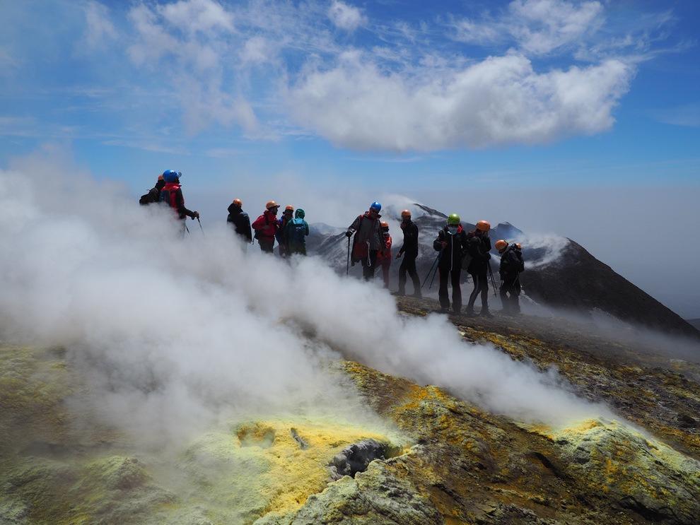 Etna Summit Crater