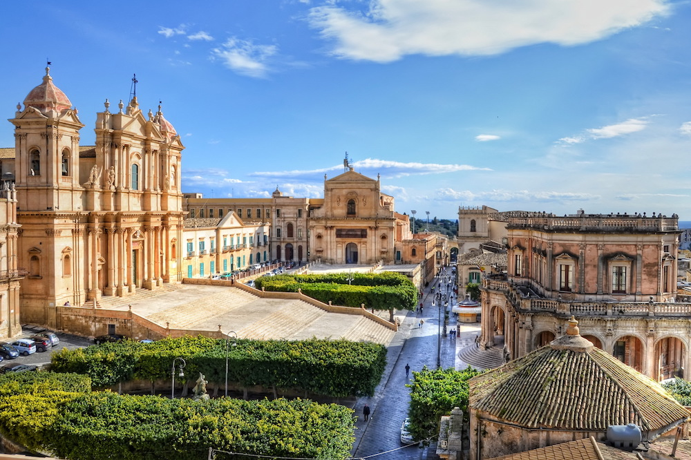 Late Baroque towns in the Val di Noto
